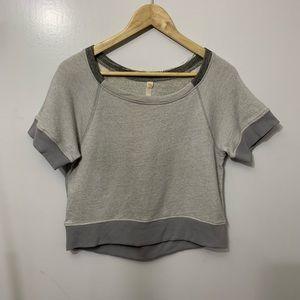 Lucy Athletic Short Sleeve Workout Sweatshirt